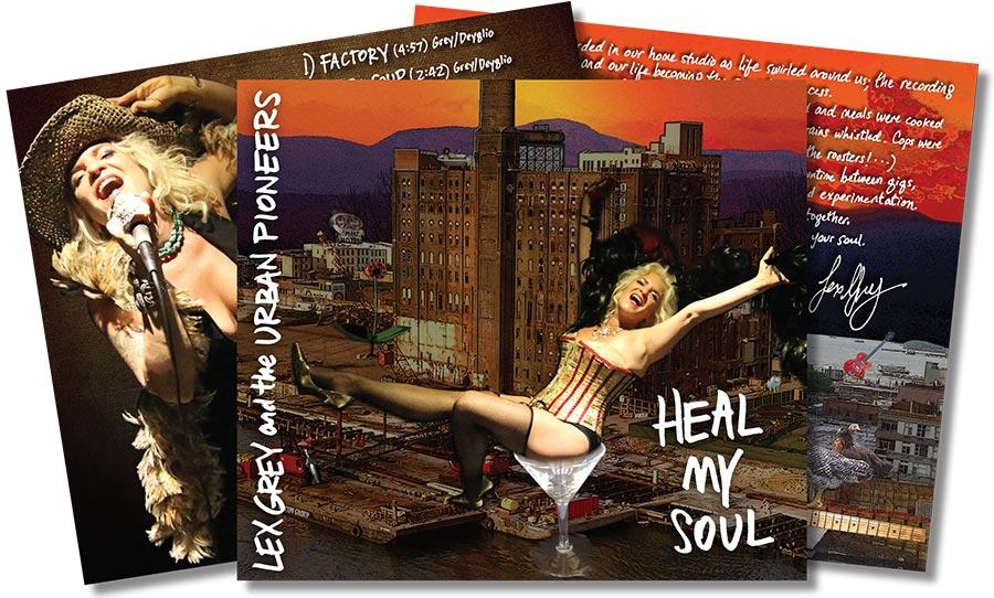 Lex Grey - Heal My Soul